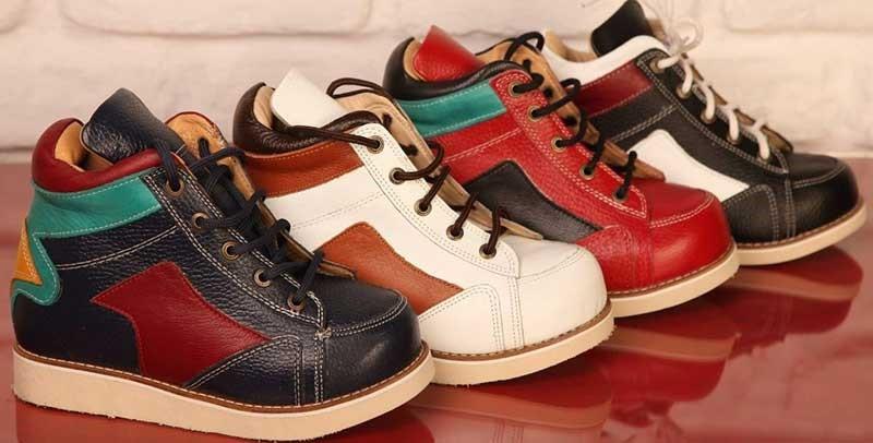 کفش مخصوص کف پای صاف کودکان