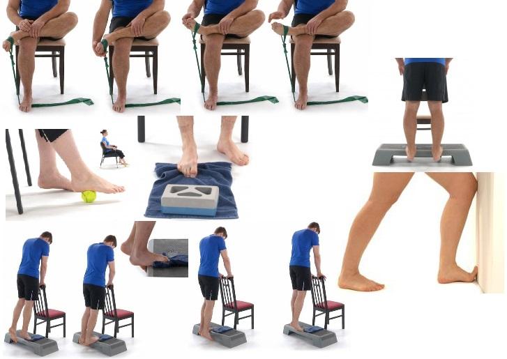 ورزش برای کف پای صاف