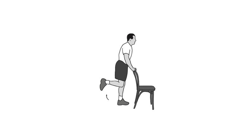 تقویت عضلات پشت ران بازتوانی زانو
