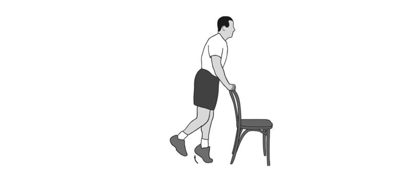 تقویت عضلات پشت ساق بازتوانی زانو