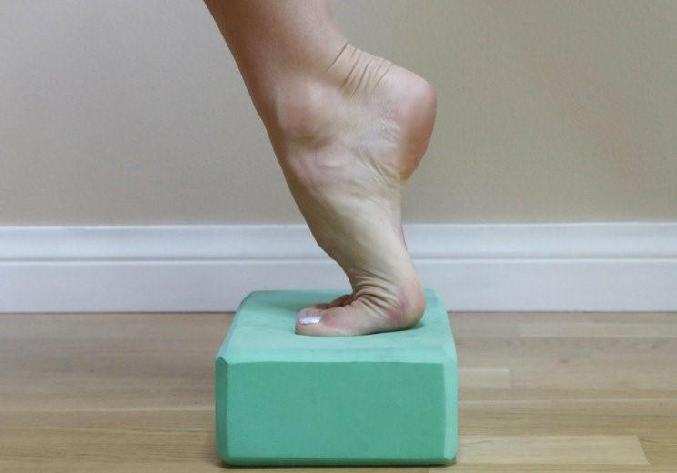 درمان درد مچ پا با ورزش