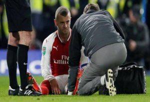 آسیب دیدگی مچ پا در فوتبال