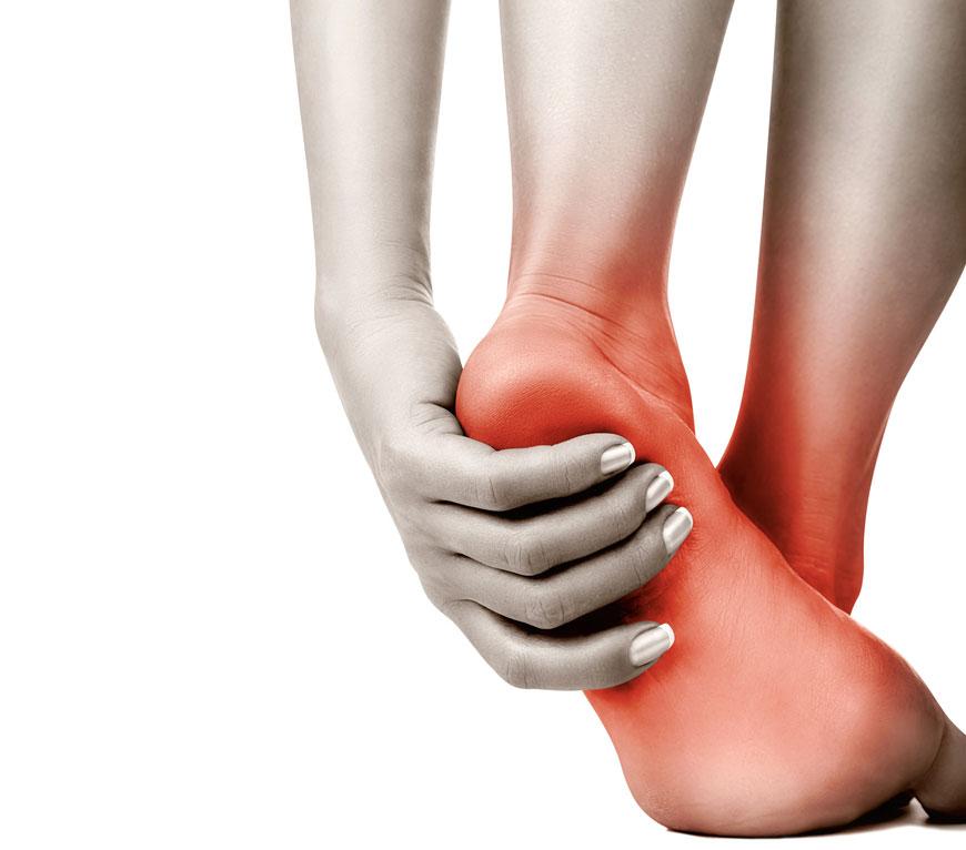 سوزش کف پا (درمان خانگی و سنتی)