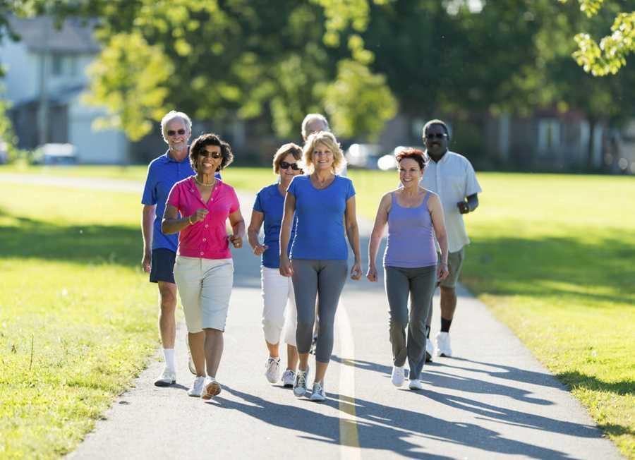 ورزش پیاده روی برای آرتروز