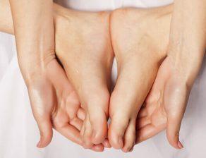 درمان قوس کف پا