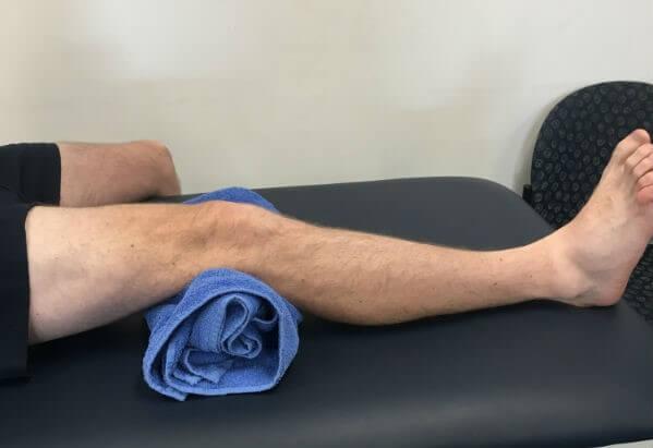 انقباض عضلات زانو