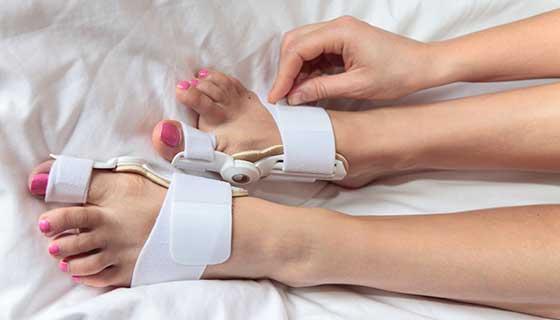 مراقبت های پس از جراحی فیوژن پا