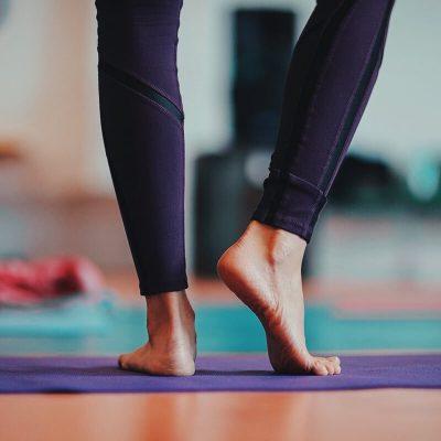 تمرینات تقویت پنجه پا